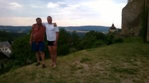 Před branami lipnického hradu