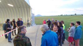 Slavnostní inaugurace nových hangárů